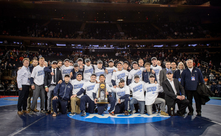 Penn State Wrestling 2016 NCAA Champions
